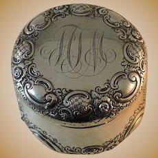 Sterling Silver Dresser Jar - Bailey Banks & Biddle