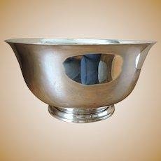 HEAVY Sterling Silver Revere Bowl by Richard Dimes - 1 lb 12 oz - 784 grams - 1930's