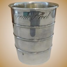 Towle Silver Plated World's Great Cook Cup Measure 3246