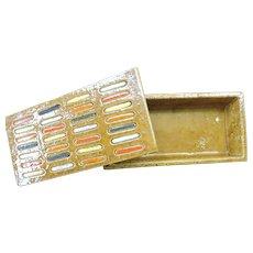 Mid Century Aldo Londi Ceramic Box for Bitossi, Rosenthal Netter or Raymor