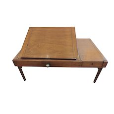 Late 18th or early 19th Century Folding Bed Tray Table
