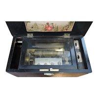 Amazing 1860's 61 Teeth Swiss Music Box Playing 4 Arias
