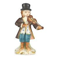 Porcelain Monkey Musician