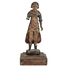 Carved Wood Youth