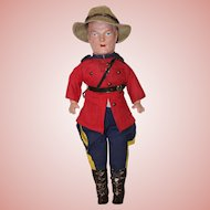 """Vintage 17"""" *Royal Canadian Mountie* by Reliable"""