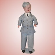 """Vintage 17"""" * Canadian Air Force Doll * by Reliable"""