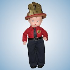 1940's *Skippy Fireman* by Effanbee