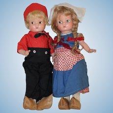 Sweet Little **Patsyette Dutch Twins** by Effanbee