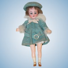 "Petite 7"" *Simon & Halbig Flapper* Original Clothing"