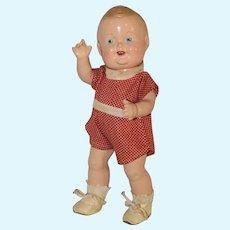 Vintage 1939 **Baby Sandy Doll** by Freundlich