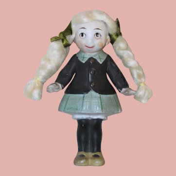 All Bisque *Little Annie Rooney Doll* made in Germany