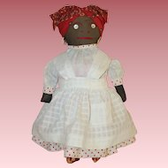 Wonderful Cloth * Black Character * Folk Art Doll