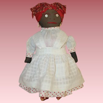 Wonderful Cloth * Black Character * Folk Art Doll