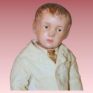 "Wonderful 16"" *Carved Hair Schoenhut Boy* Model #204"