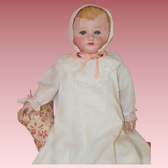 "Beautiful 21"" *Martha Chase Baby* Cloth Doll"