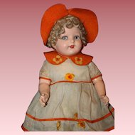 "Wonderful 19"" *Val Encia~Madame Hebdren Doll* All Original"