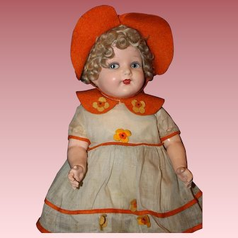 "Wonderful 19"" *Val Encia~Madame Hebdren Doll* All Original"