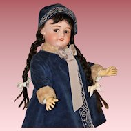 "Adorable 23"" Flirty Eyed ~ Walking Doll #1079 ~ by Simon & Halbig"