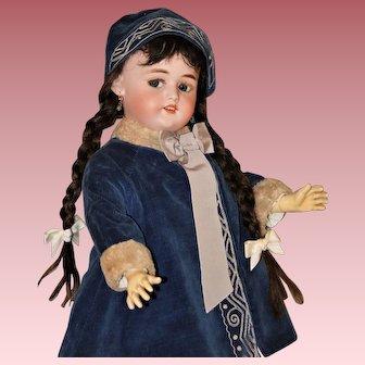 "Adorable 23"" Flirty Eyed ~ Walking Doll #1079 ~ by Simon & Halbig"