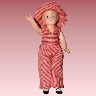 "Darling 6"" **Wee Patsy Doll** by Effanbee"