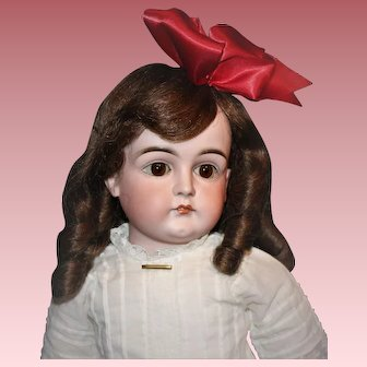 """Beautiful *18"""" Closed Mouth Child #128 * by Kestner"""