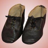 Antique Black ~ German Doll Shoe ~ Size 13