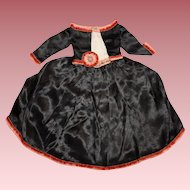 Lovely Small Size *Antique 2 Piece Dress* for French or German Doll