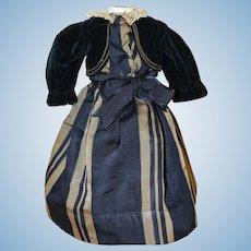 Elegant 2 Piece *Antique Dress & Blouse* for Fashion type Doll