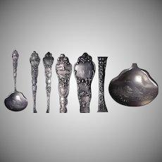 Rare Sterling Albany Oregon Souvenir Bon/Bon Spoon