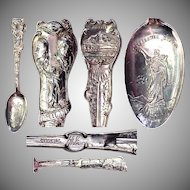 Full Size 1905 Lewis & Clark Exposition Sterling Souvenir Spoon