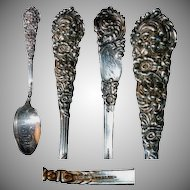 "Heavy Sterling Souvenir Spoon ""Chicago"""