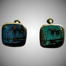 Scarce Butterfly Wing Earrings