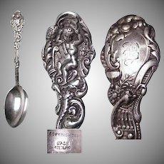 """Early Gorham Sterling Silver Versailles 6"""" Teaspoon"""