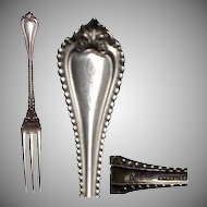 Sterling Silver Berry Fork Lunt Old Colony 1895