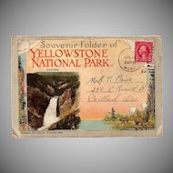 Nice Folder of Yellowstone Park Views in color!