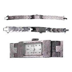 Baume & Mercier 17 Jewel 14K White Gold Ladies Watch