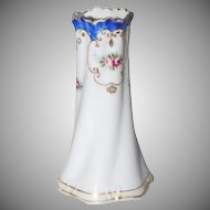 Beautiful & Petite Hand Painted Nippon Open Top Hatpin Holder/Vase