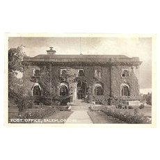 "RPPC of ""Salem Oregon Post Office"""