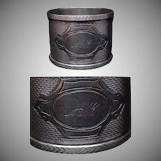Sterling Silver napkin ring #6