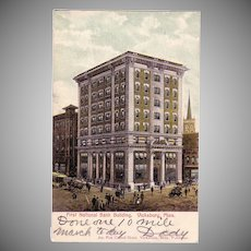 "Postcard ""1st National Bank Building Vicksburg, Miss."""