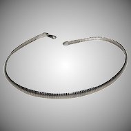 "16 3/8"" Long Heavy Sterling Necklace with Secure Clasp"