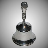Antique 1900's Sterling Silver Bell by J E Caldwell