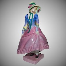 "Circa 1930 - 1949 Scarce Royal Doulton ""HN 1412 Pantelette"" (Style One)"
