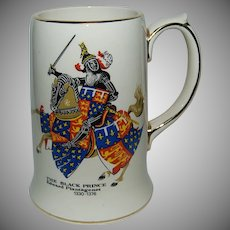 """The Black Prince"" Made by Sadler England / Pottery Mug / Stein"