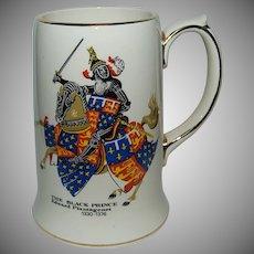 """The Black Prince"" Made by Sadler England / Pottery Mug / Stein"