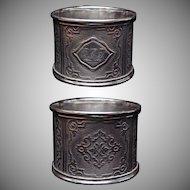 Pre-1870's Coin Silver Napkin Ring #15