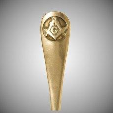 1908 Sterling Silver Masonic Souvenir Spoon