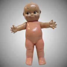 "1944 Cameo Doll Co 11"" Jointed Composition Kewpie w/ Starfish Hands"