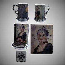 Hand Painted ( Studio ) Rosenthal Mug