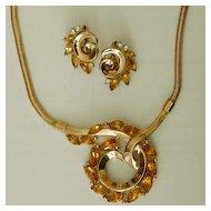 CROWN TRIFARI Alfred Philippe Necklace/Earrings Demi - Poss. Unworn?